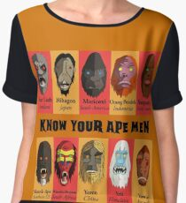 Know Your Ape Men Chiffon Top