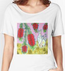 Kangaroos with Bottlebrush Women's Relaxed Fit T-Shirt