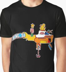 Yellow Submarine (sea of monsters) Graphic T-Shirt