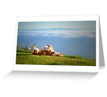 Ecstasy with nature Greeting Card