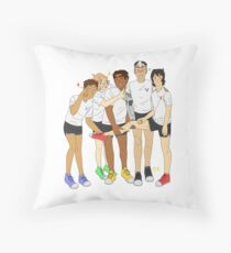 Voltron Group Picture Throw Pillow