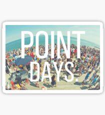 Fairfield University Point Days Sticker