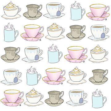 Teacups and Saucers by Shosetsu