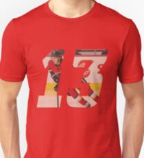 #13 - Johnny Hockey Unisex T-Shirt