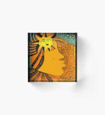 The Sun Eater Acrylic Block