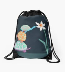 3 Turtles High Drawstring Bag