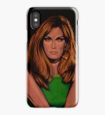 Dalida Portrait Painting iPhone Case/Skin