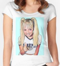 Emma Bunton 'Baby Spice'  Women's Fitted Scoop T-Shirt