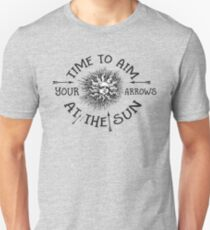 The Doors lyrics - take it As It Comes - Arrows Sun Vintage Design Unisex T-Shirt