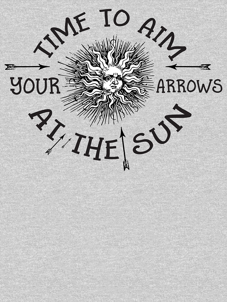 The Doors lyrics - take it As It Comes - Arrows Sun Vintage Design by Sago-Design