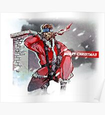 Merry Christmas - Metal Gear Solid Poster