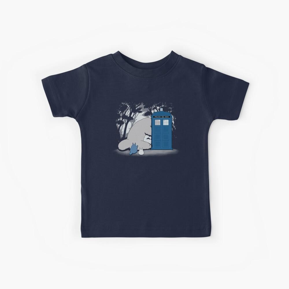 Curious Forest Spirits Kids T-Shirt