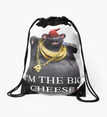 I'm The Big Cheese Drawstring Bag