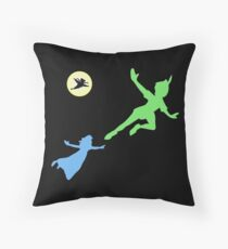 Peter and Wendy Throw Pillow