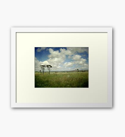 To The East Framed Print
