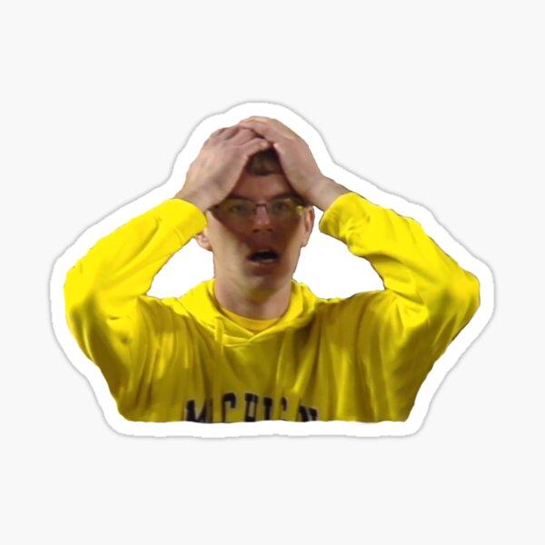 Michigan Fan Losing Sticker
