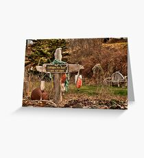 Cottages for Rent Greeting Card
