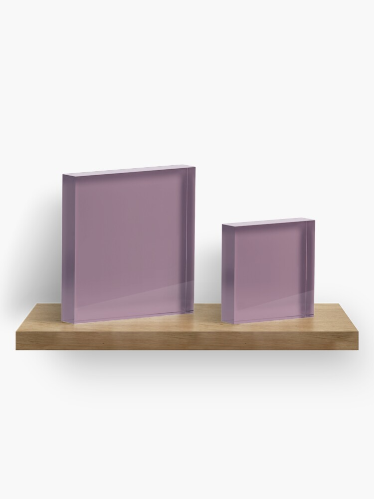 Alternate view of Mauve Acrylic Block