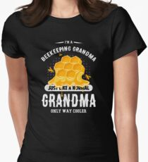 Beekeeping Grandma Women's Fitted T-Shirt