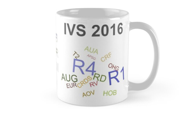 IVS 2016 Master Schedule by Jim Lovell