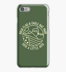 ROCK FLAG & EAGLE! iPhone Case/Skin