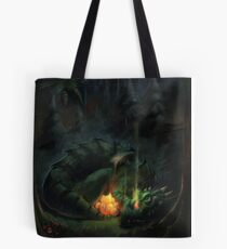 Bed Time Dragon Tote Bag