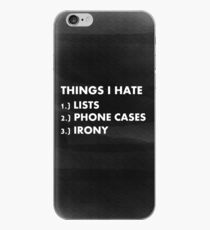 Funny ironic phone case  iPhone Case