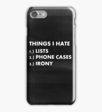 Funny ironic phone case  iPhone Case/Skin
