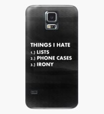 Funny ironic phone case  Case/Skin for Samsung Galaxy