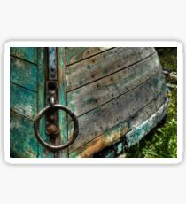 Lunenburg boat at rest! Sticker