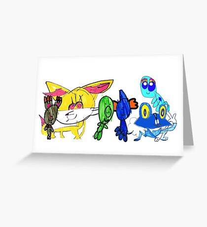 Robyn's Cup for Pokemon on the Go Greeting Card