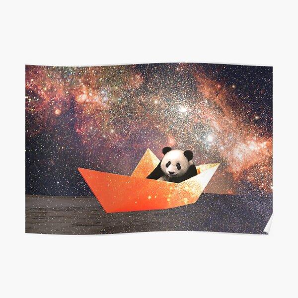 Galactic Panda Poster