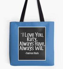Lux Series Quote - I Love You, Katy Tote Bag
