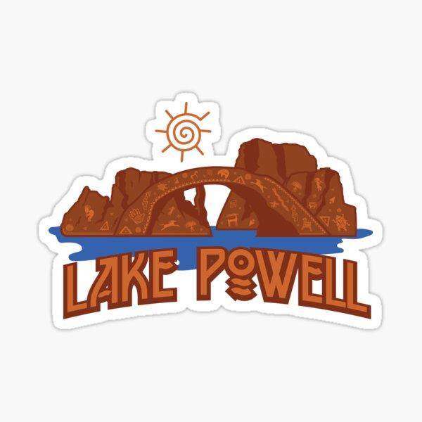 Lake Powell Hieroglyphics Sticker
