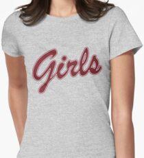 Mädchen - Freunde Tailliertes T-Shirt für Frauen