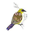 Bellbird by scatterlings