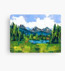 Teton Canvas Print