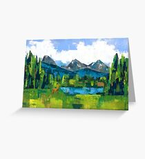 Teton Greeting Card
