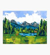 Teton Photographic Print