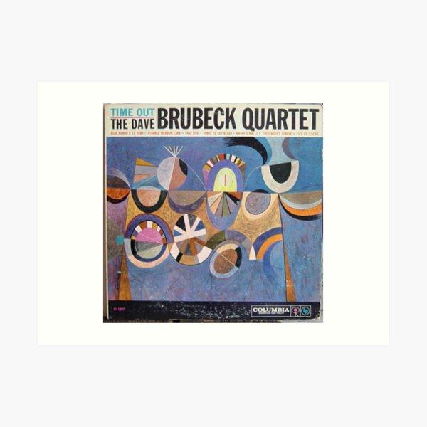 Time Out, Dave Brubeck Quartet, Original Mono cover Art Print