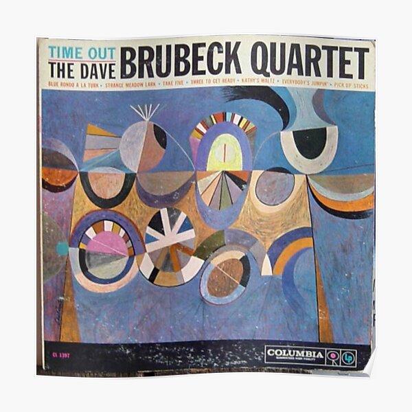 Time Out, Dave Brubeck Quartet, Original Mono cover Poster
