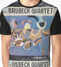 Time Out, Dave Brubeck Quartet, Original Mono cover Graphic T-Shirt