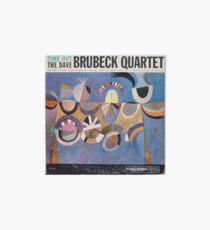 Time Out, Dave Brubeck Quartet, Original Mono cover Art Board Print