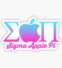 Sigma Apple Pi ΣΠ  Sticker