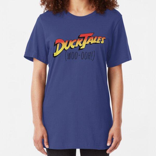 DuckTales Woo-ooh Slim Fit T-Shirt