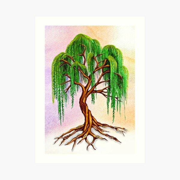 Weeping Tree of Life Art Print