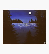 Blue Lake Photographic Print