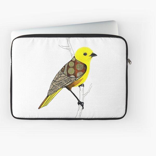 Mohua / Yellowhead Bird Laptop Sleeve