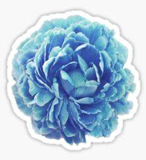 Cinderella Blue Flower Sticker