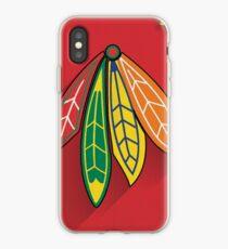 Chicago Blackhawks Minimalist Print iPhone Case